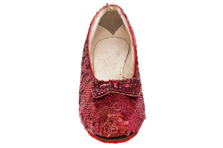 dd8196d6dbccbd One of Dorothy s original ruby slippers from The Wizard of Oz. The shoe s  2