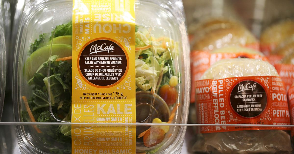 McDonald's Takes Salad Off the Menu in 14 States