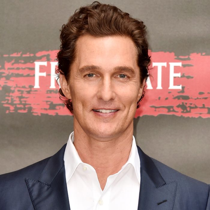 Matthew McConaughey Is Now Hunting Millennials, the Most ...
