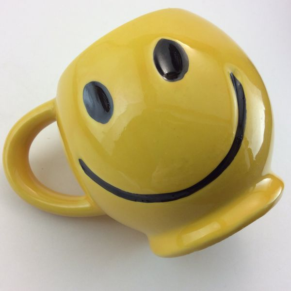 McCoy Smiley Face Mug