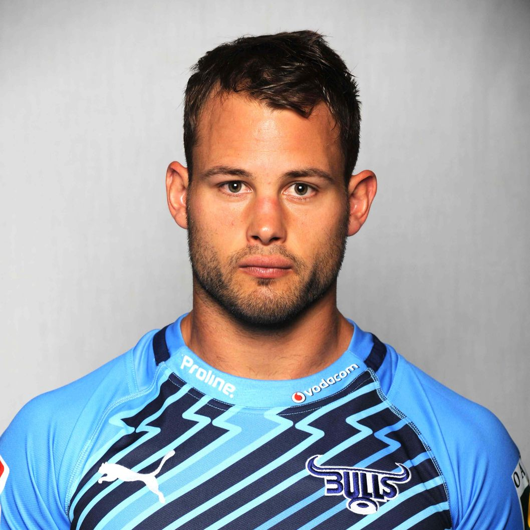 Francois Hougaard of the Bulls during the official 2013 Bulls Super Rugby headshots session at Loftus Versfeld Stadium on February 13, 2013 in Pretoria, South Africa.