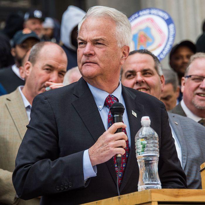 Staten Island district attorney Michael McMahon.