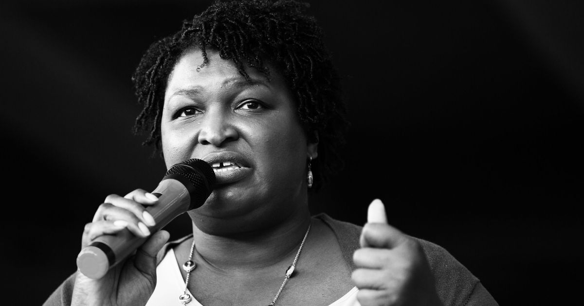 Democratic Gubernatorial Nominee Stacey Abrams Leads A