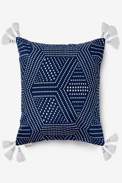 Martha Stewart Collection Piper Beaded Decorative Pillow