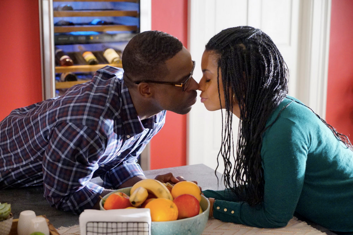 Sterling K. Brown as Randall, Susan Kelechi Watson as Beth.