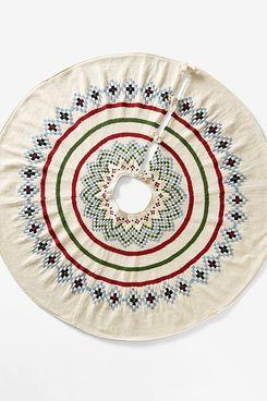 Garnet Hill Woolen Tree Skirt