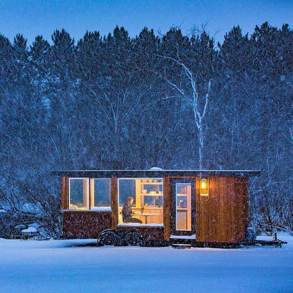The Glass House: A Hudson Valley Tiny Home Escape