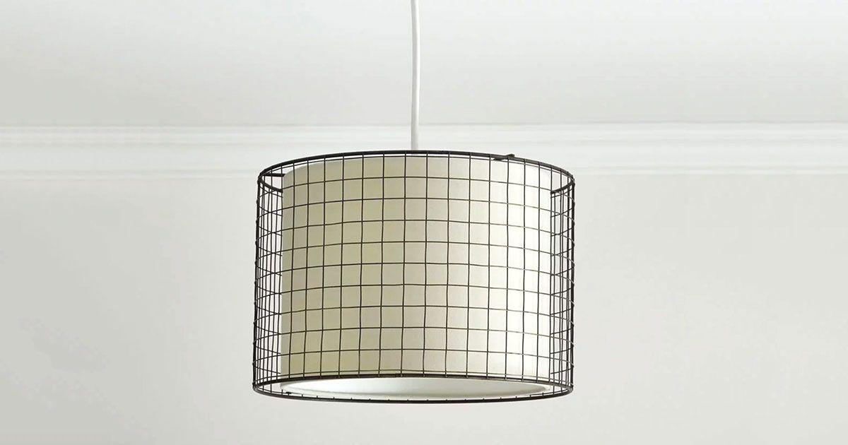This Wilko Lampshade Belongs In A 1960s, Copper Table Lamp Wilko