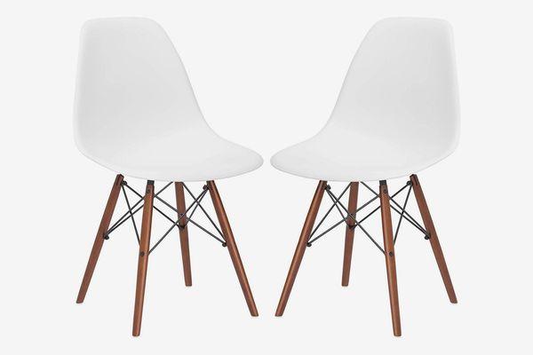 Poly and Bark Vortex Modern Mid-Century Chair