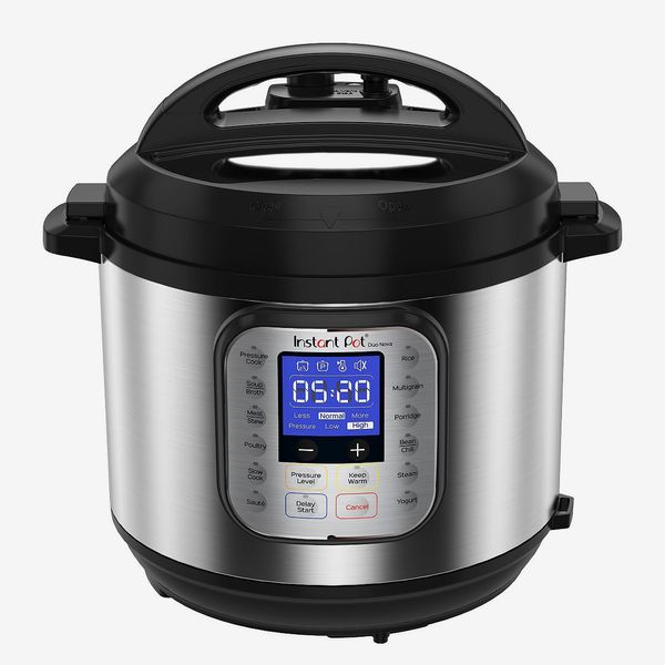 Instant Pot Duo Nova 7-in-1 Programmable Pressure Cooker, 6-Quart