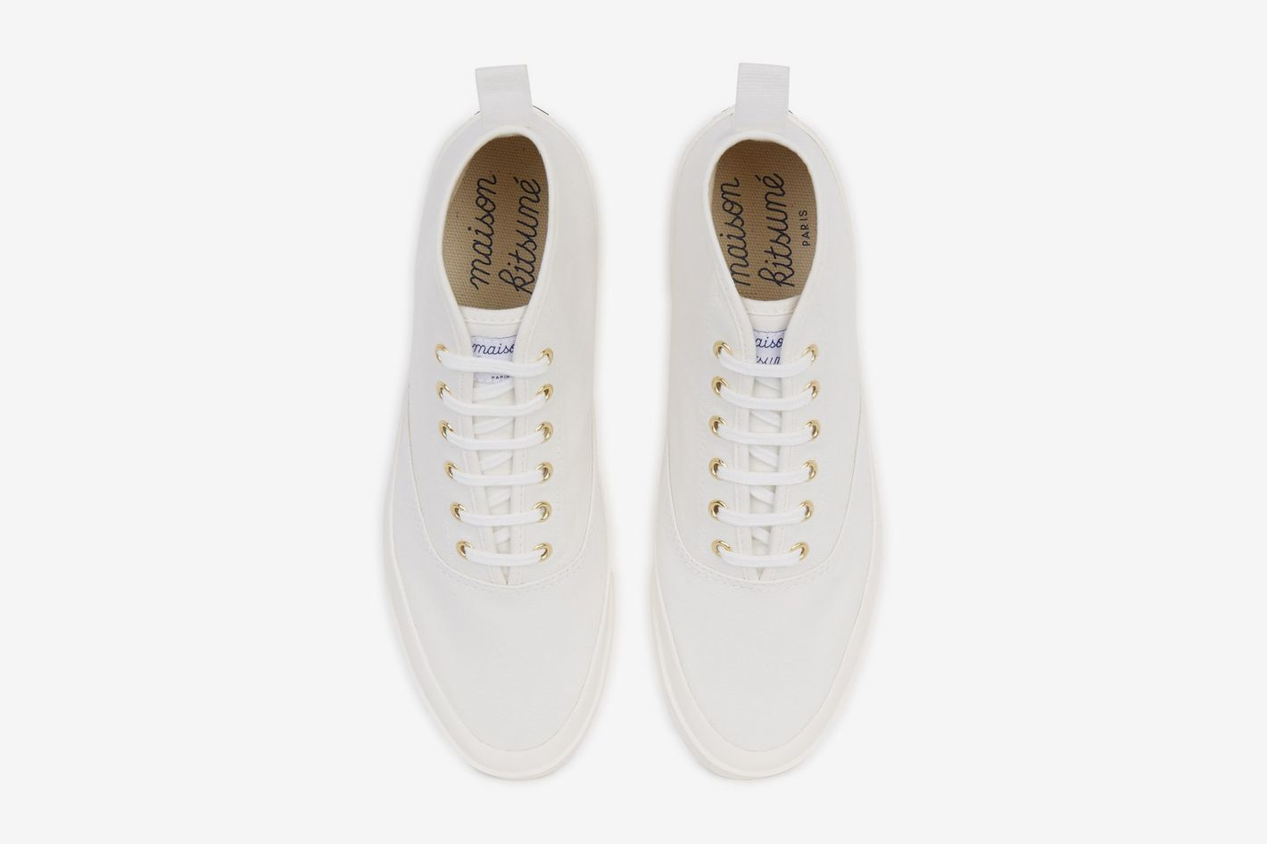 Maison Kitsuné High Top Sneakers