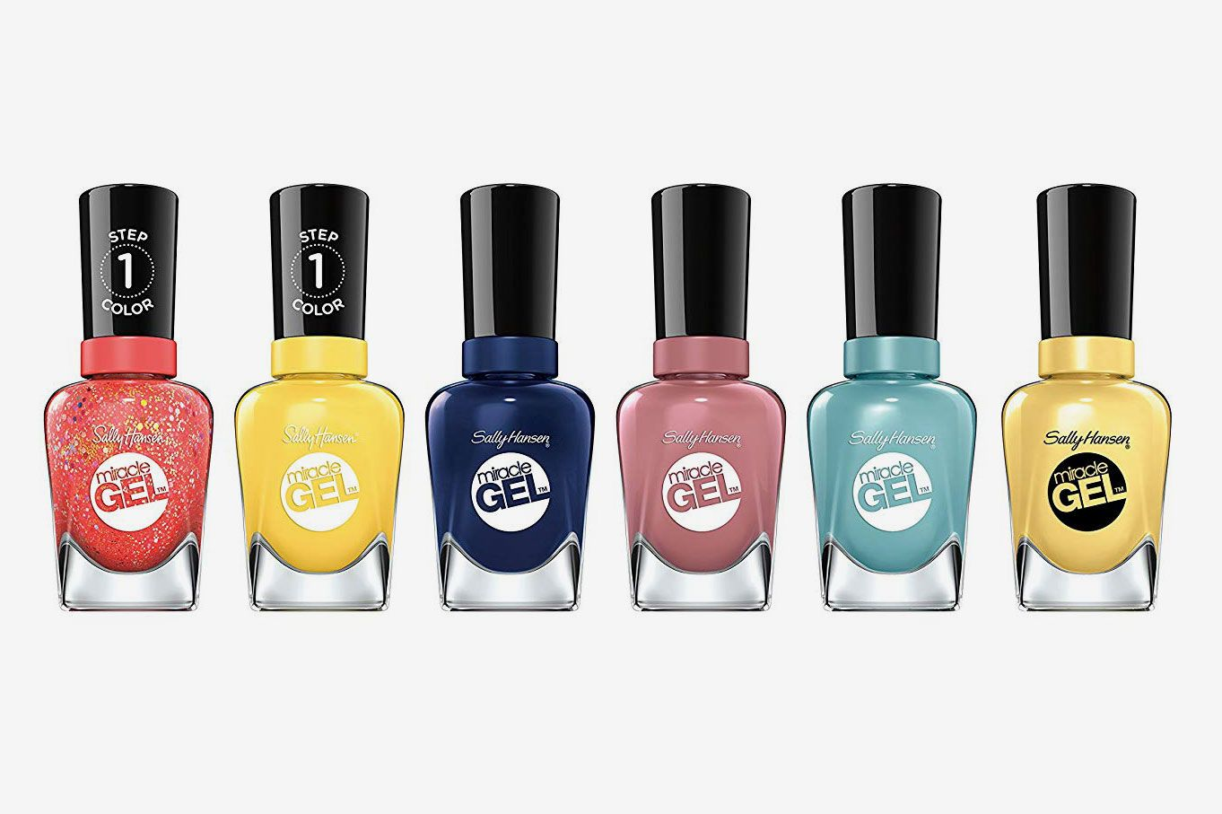 Sally Hansen Miracle Gel Summer Bright Shades Nail Polish Set