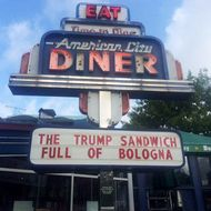 Fittingly, This Donald Trump Sandwich Is 'Full of Bologna'