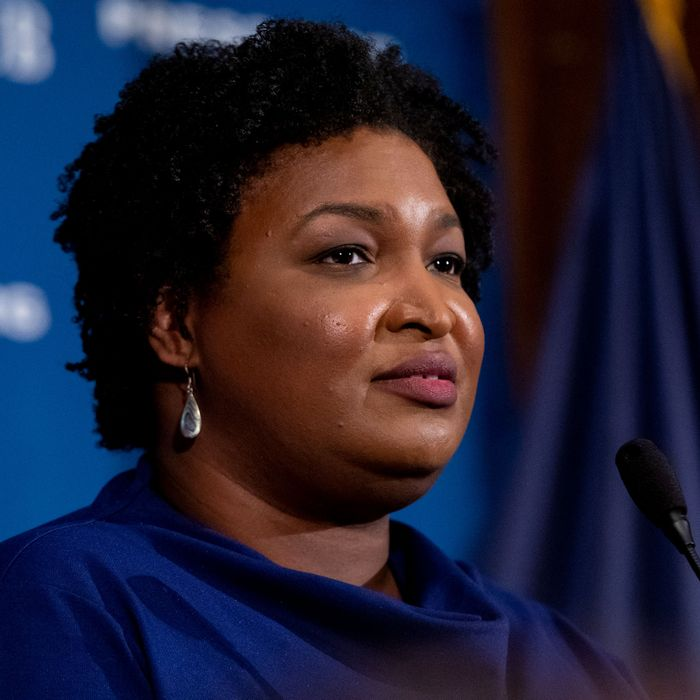 2018 Georgia gubernatorial candidate and Fair Fight Georgia founder Stacey Abrams.