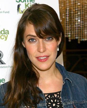 NEW YORK - MAY 08: Musician Feist attends the Rainforest Foundation Fund's