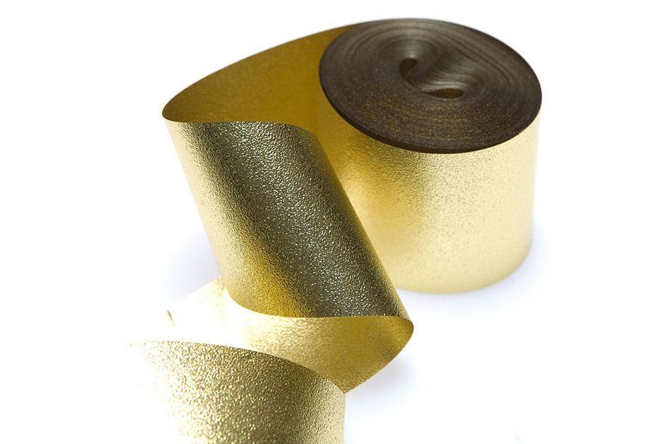 Gold Metallic Streamers