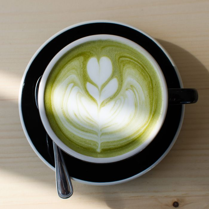 Chalait's matcha latte.