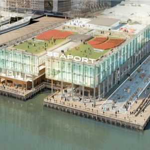 The new Pier 17.