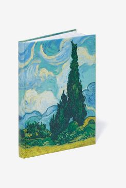 Van Gogh Wheat Fields with Cypresses Journal