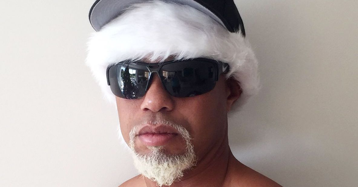Tiger Woods Says He Posed As 'Mac Daddy Santa' for His Kids