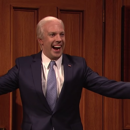 Jason Sudeikis as Joe Biden.