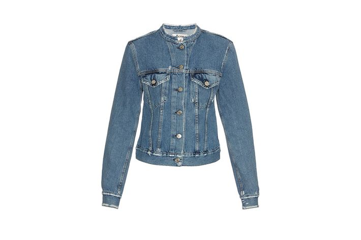 4c8243084f595 Here s Acne Studios  version of the clean-cut denim jacket.