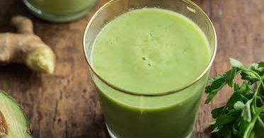 A Pineapple-Avocado Smoothie From 'Oh She Glows'