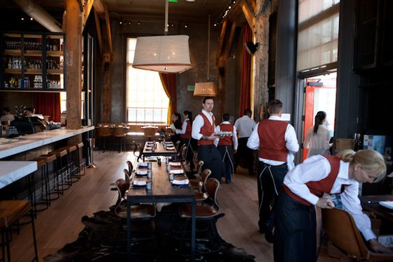The redesign of the space, formerly Lafitte, was overseen by Eileen Gordon Chiarello.