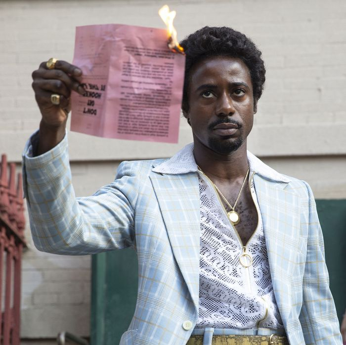 Gary Carr as C.C. in <em>The Deuce.</em>
