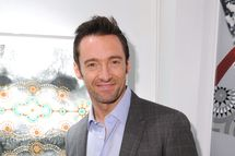 "NEW YORK, NY - DECEMBER 05:  Hugh Jackman attends the ""Nomad Two Worlds"" Russell James Exhibit Opening at the Chair and The Maiden Gallery on December 5, 2011 in New York City.  (Photo by Craig Barritt/Getty Images)"