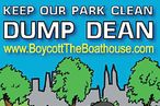 'Boycott the Boathouse' Flyer Advises Would-be Patrons on Dining Alternatives