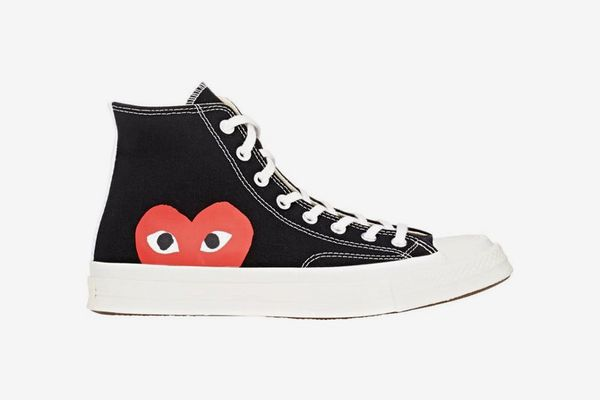 Comme des Garçons Play Men's Chuck Taylor 1970s High-Top Sneakers