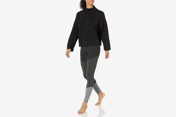 Core 10 Cloud Soft Yoga Fleece Mock Dolman Sweatshirt