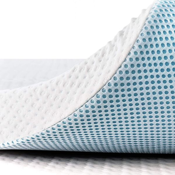 Subrtex 3 Inch Gel-Infused Memory Foam Bed Mattress Topper