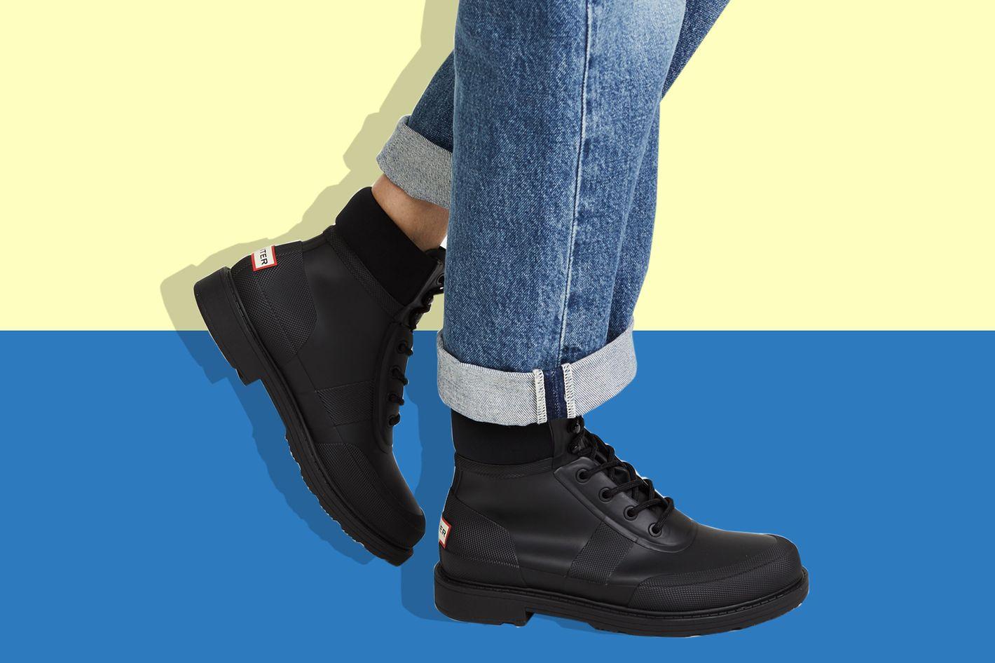 Hunter Original Rubber Commando Boots