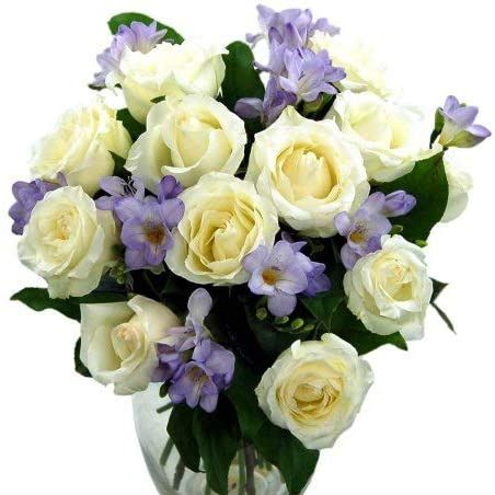 Clare Florist Rose and Freesia Bouquet