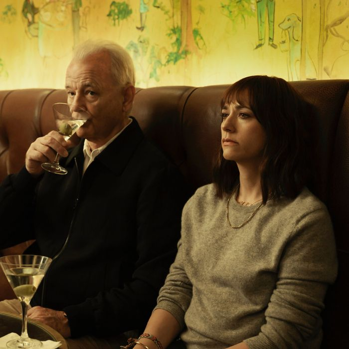 Bill Murray and Rashida Jones in Sofia Coppola's On the Rocks