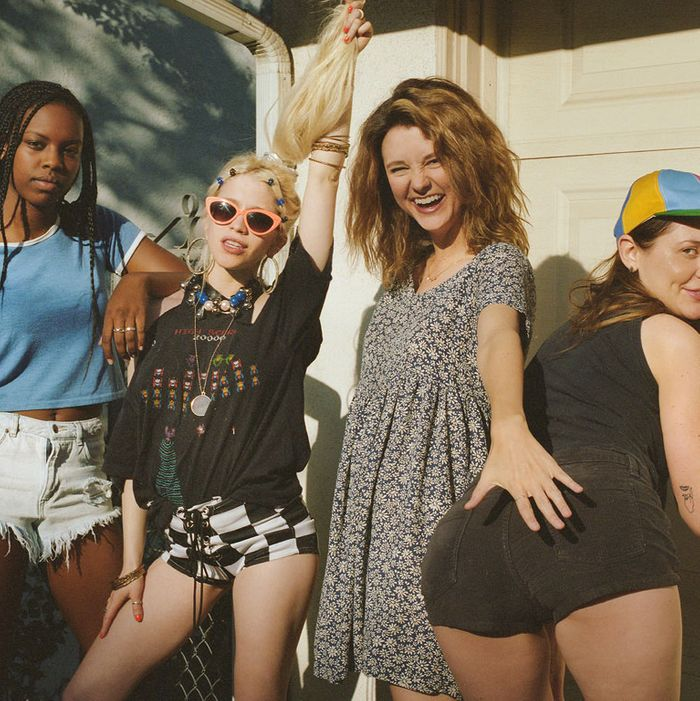 Short film 'Girl Band' premiered at Tribeca this year