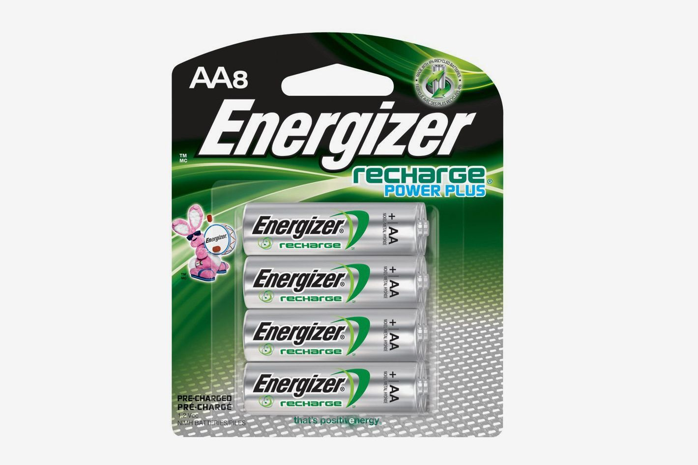 Energizer Rechargeable AA Batteries Pre-Charged (8-Count)