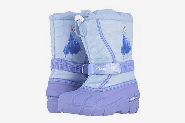 Sorel Kids Disney x Sorel Flurry Frozen 2 Boot Elsa Edition