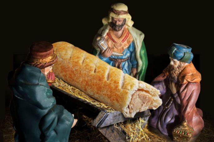 Bakery chain sorry for sausage roll jesus nativity scene solutioingenieria Gallery