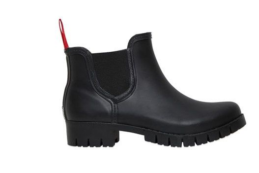Colors of California Rubber Ankle Boots