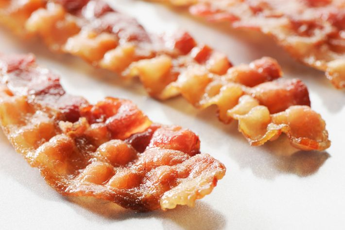 Bacon, yes; bar, no.