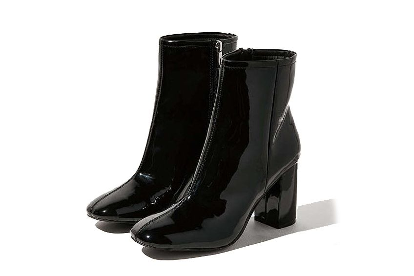 Sloane Patent Boots