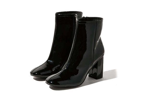 Sloane Patent Boots