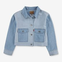 Levi's Girls' Light Chord Denim Jacket
