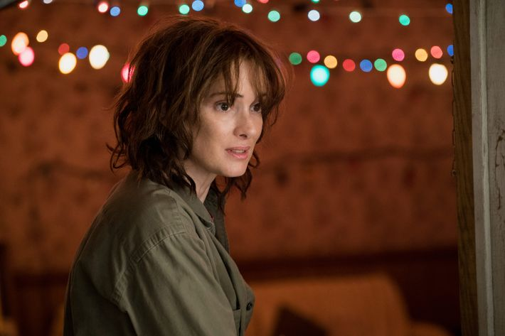 Winona Ryder in <i>Stranger Things</i>.