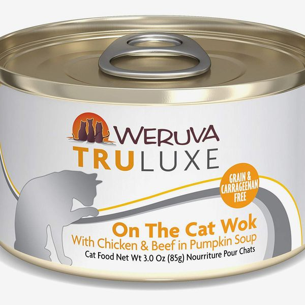 Weruva Truluxe On The Cat Wok with Chicken & Beef in Pumpkin Soup Grain-Free Canned Cat Food