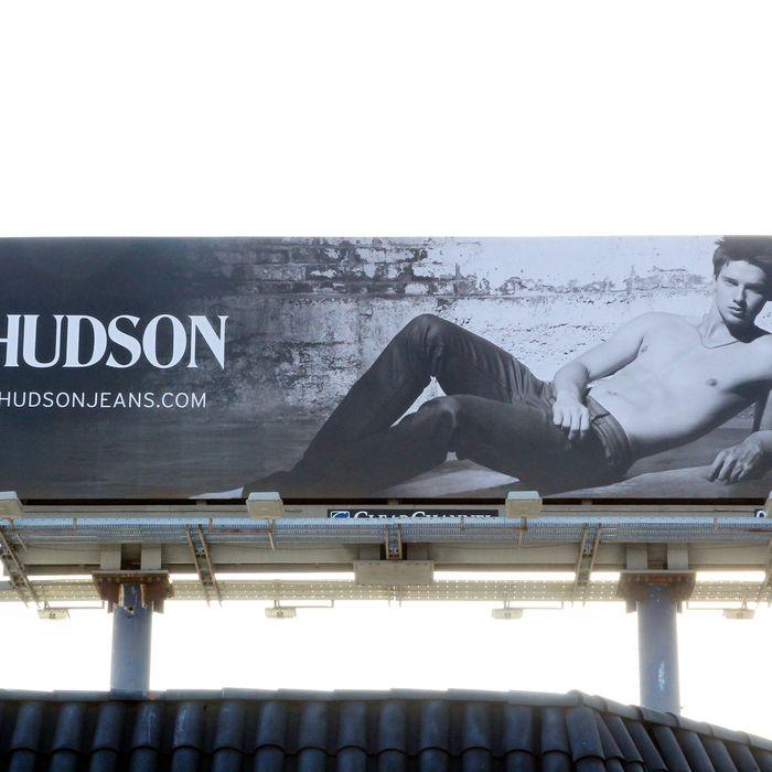 Patrick Schwarzenegger's Hudson ads.