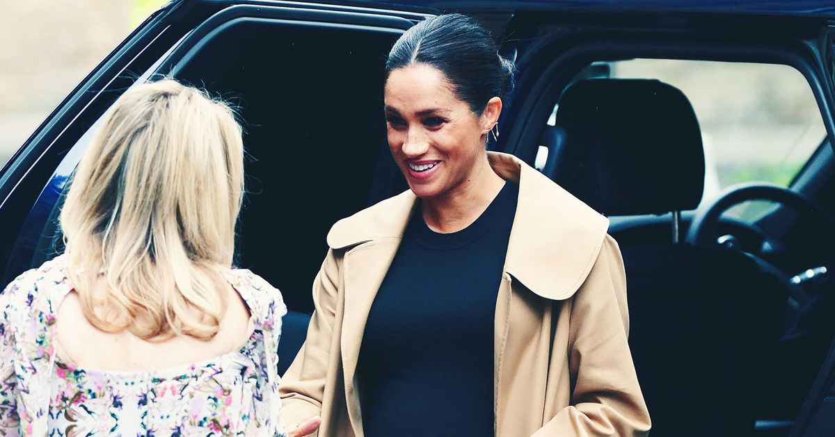 b701f77e56bf Meghan Markle s Best Style   Fashion Moments 2018
